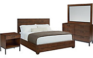 Magnolia Home Industrial 4-Piece Queen Bedroom Set