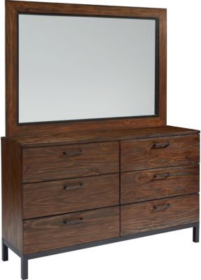 Magnolia Home Industrial Dresser with Mirror
