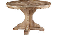 Magnolia Home Farmhouse Pedestal Table