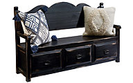 Magnolia Home Chimney Storage Bench