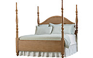 Magnolia Home Primitive Queen Camelback Poster Bed
