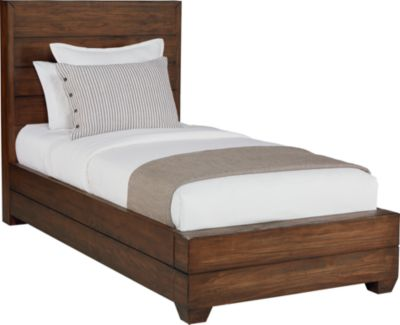 Magnolia Home Industrial Twin Framework Bed