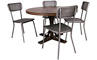 Magnolia Home Traditional 5-Piece Dining Set