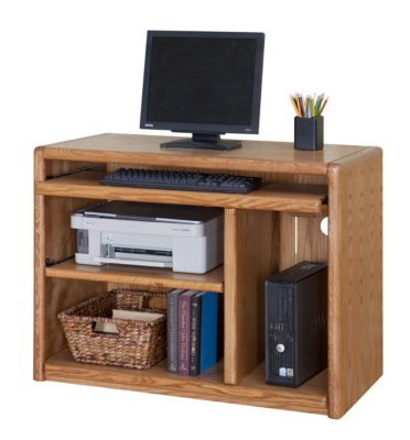 Martin Furniture Contemporary Computer Cart