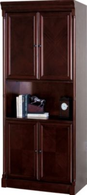 Martin Furniture Mount View Bookcase with Doors