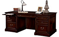 Martin Furniture Mount View Double Pedestal Executive Desk