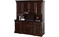 Martin Furniture Mount View Computer Credenza & Hutch