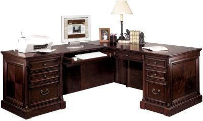 Martin Furniture Mount View Corner Desk