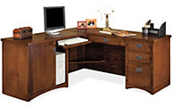 Martin Furniture Mission Pasadena LHF Corner Desk