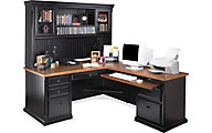 Martin Furniture Southampton RHF Corner Desk and Hutch