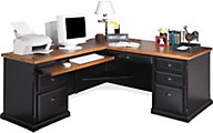 Martin Furniture Southampton LHF Corner Desk