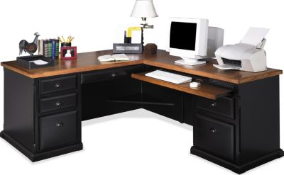 Martin Furniture Southampton RHF Corner Desk