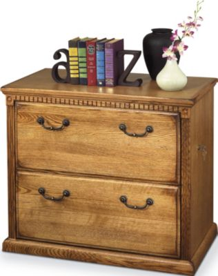 Martin Furniture Huntington Wheat Two-Drawer Lateral File