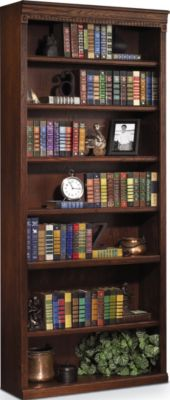 Martin Furniture Huntington Burnished 84-Inch Bookcase