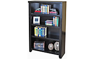 Martin Furniture Tribeca Loft Black 48-inch Bookcase
