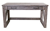 Martin Furniture Avondale Gray Writing Desk