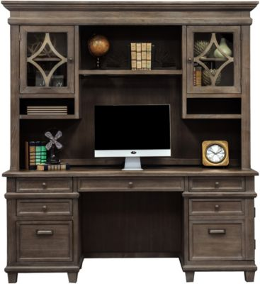 Martin Furniture Carson Credenza with Hutch