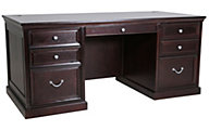 Martin Furniture Fulton Double Pedestal Executive Desk