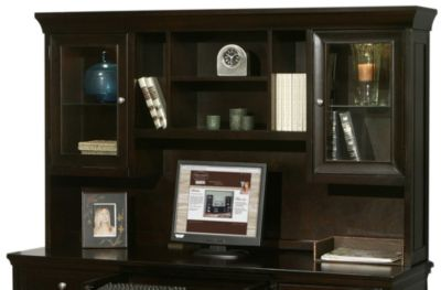 Martin Furniture Fulton Executive Hutch Top Only Homemakers Furniture