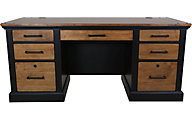 Martin Furniture Toulouse Double Pedestal Desk