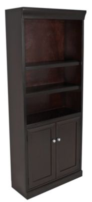 Martin Furniture Fulton Lower Door Tall Bookcase