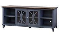Martin Furniture Baily Blue Media Console