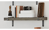 Martin Furniture Rustic Gray 36-inch Floating Shelf