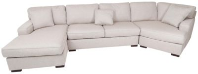 Max Home Argentina Left-Side Chaise 3-Piece Sectional