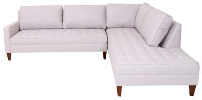 Max Home Stanford 2Pc Sectional - Rhf Daybed