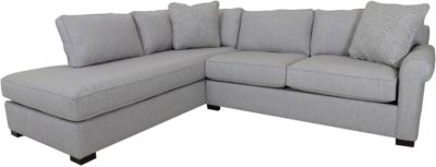 Max Home East Hampton 2-Piece Sectional with Left-Facing Da