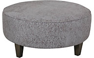 Max Home Como 36-Inch Round Cocktail Ottoman