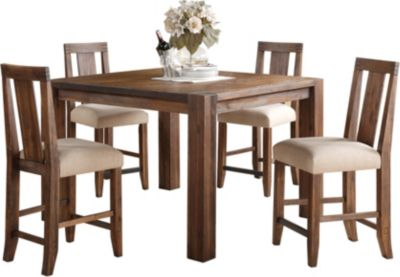 Modus Furniture Meadow 5 Piece Counter Set
