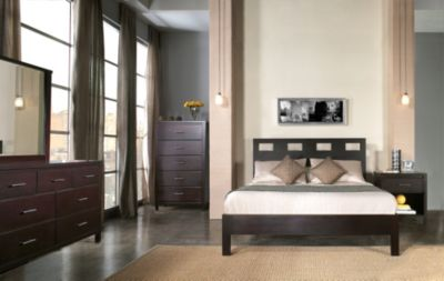 Modus Furniture Nevis King Platform Bedroom Set