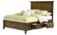 Modus Furniture Paragon Brown Full Storage Bed