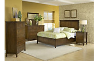 Modus Furniture Paragon Brown Queen Bedroom Set
