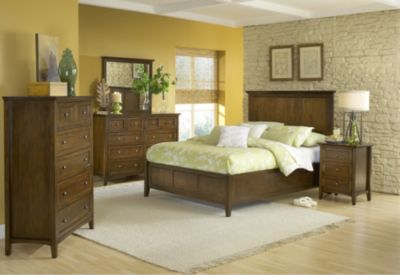Modus Furniture Paragon Brown King Bedroom Set