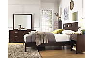 Modus Furniture Riva 4-Piece King Platform Bedroom Set