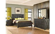 Modus Furniture Yosemite 4-Piece Queen Bedroom Set