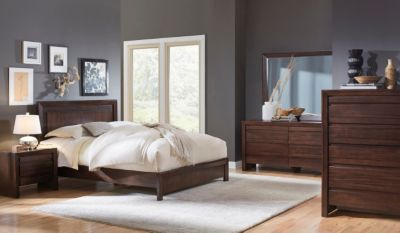 Modus Furniture Element 4-Piece King Bedroom Set
