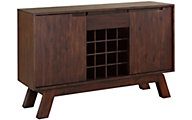 Modus Furniture Portland Buffet with Wine Rack
