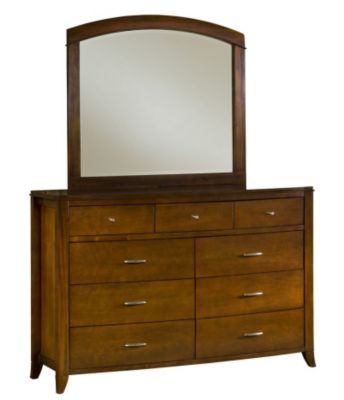 Modus Furniture Brighton Dresser with Mirror