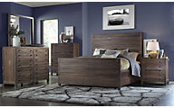 Modus Furniture Townsend 4-Piece Queen Bedroom Set