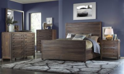 Modus Furniture Townsend 4 Piece King Bedroom Set
