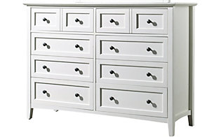 Modus Furniture Paragon White Dresser