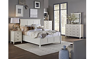 Modus Furniture Paragon White King Bedroom Set