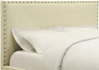 Modus Furniture Geneva Tavel King Upholstered Headboard
