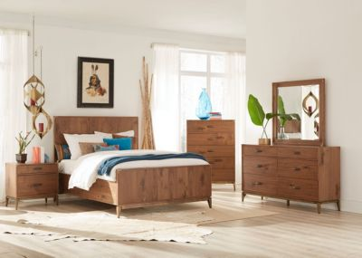Modus Furniture Adler 4-Piece Queen Bedroom Set | Homemakers Furniture