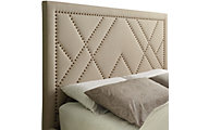Modus Furniture Geneva Vienne Queen Upholstered Headboard