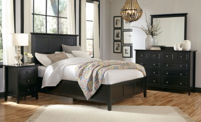 Modus Furniture Paragon Black King Bedroom Set