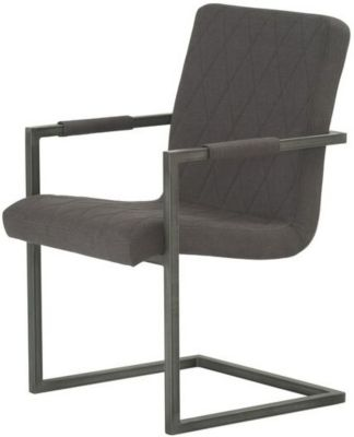 Modus Furniture Gage Charcoal Side Chair